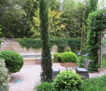 N°15 Avignon chambres monnaie vue jardin